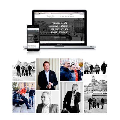 Fotografering och hemsida till Sundström & Partners